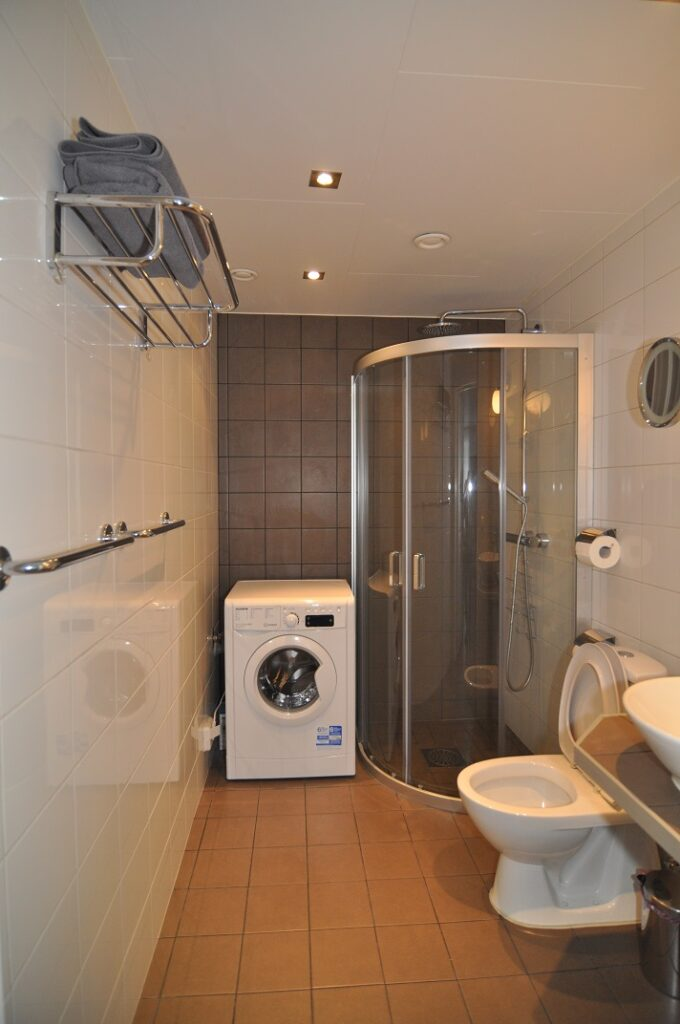 Bathroom in IGMA Lodge