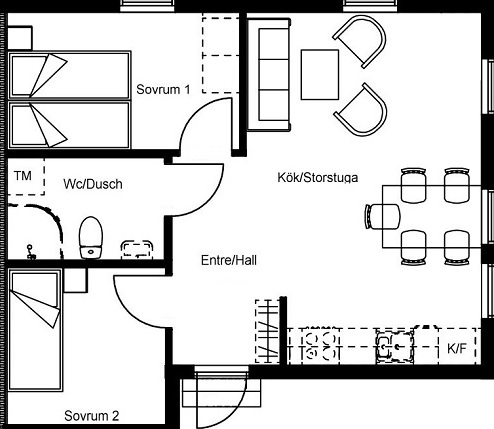 Floor plan at holiday home IGMA Lodge